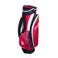 Brosnan Coolmate S2 Cart Bag - Black/Red/White