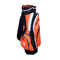 Brosnan Coolmate S2 Cart Bag - Black/Orange/White