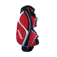 Brosnan Firebird Cart Bag - Red/Black/White