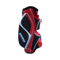 Brosnan Firebird Cart Bag - Black/Red/White