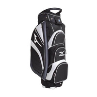 Mizuno Osaka Cart Bag - Black