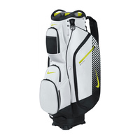 Nike M9 III Cart Bag -  White/Volt-Black