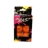 Bullet Golf Balls - 6 PACK ORANGE