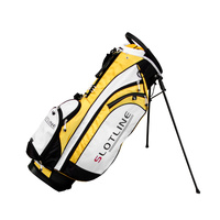 Slotline Riviera Stand Bag - Black Yellow