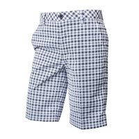IZOD Gingham Shorts -MIDNIGHT 408