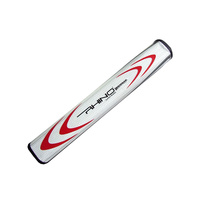 Rhino Super Putter Grip - WHT/RED