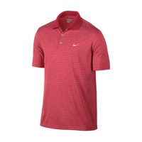 Nike Victory Stripe Men's Polo - Daring Red