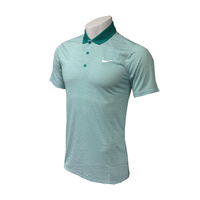 Nike Victory Mini Stripe LC Polo - Rio Teal/ White