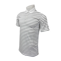 Nike Icon Stripe Polo - Dark Grey