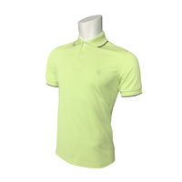 IZOD SS Solid Ply Piq Polo - Shadow Lime