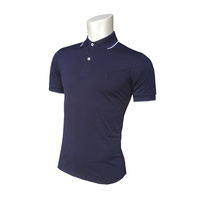 IZOD SS Solid Ply Piq Polo - Midnight