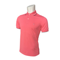 IZOD SS Solid Ply Piq Polo - Tea Rose