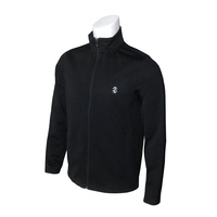 IZOD Long Game Knit Jacket - Black