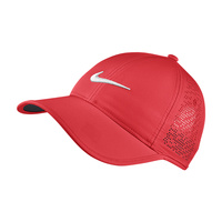 Nike Ladies Perf Cap -  Crimson
