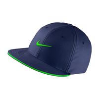 Nike Golf True Tour Cap - Midnight Navy/Voltage Green