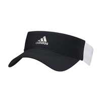 Adidas 3 Stripes Ladies Visor - Black
