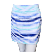 IZOD Printed Knit Skort - Bright White