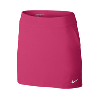 Nike Ladies Tournament Knit Skort - VIVID PINK