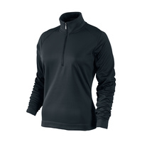 Nike Ladies Thermal Sport 1/2 Zip Pull Over - BLACK