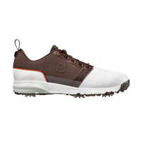 FootJoy ContourFIT Shoes - DARK BROWN / WHITE