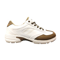 Brosnan Turfglider Golf Shoes - White