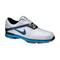 Nike Lunar Prevail Golf Shoe - White/Blue/Metallic