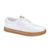 Nike Swingtip Leather Men's Golf Shoes - White/Gum
