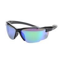 Striker SS2 Sunglasses - BLACK/BLACK WITH G15 LENS