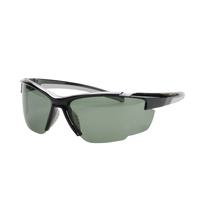 Striker SS2 Sunglasses - BLACK/GREY WITH SMOKE LENS