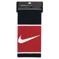 Nike Players Jacquard Golf Towel - Black/White