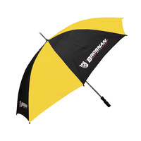"Brosnan 60"" Mustang - Logo - Yellow/Black"