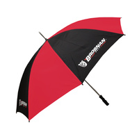 "Brosnan 60"" Mustang - Logo- Black/Red"
