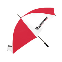 "Brosnan 60"" Mustang - Logo - White/Red"