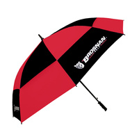 "Brosnan Tour Classic Windbuster 68"" Umbrella - BLK/RED"