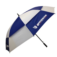 "Brosnan Tour Classic Windbuster 68"" Umbrella - NVY/WHT"
