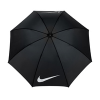 "Nike 62"" Windproof VII Black Umbrella"