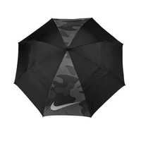 Nike 62 Windsheer Lite II Umbrella- Black/Silver- Dark Grey