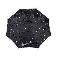 Nike 62 Womens Windproof II Umbrella - Black/Silver- White