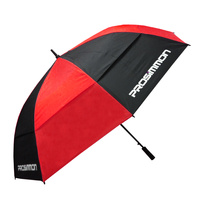 "Prosimmon Icon Windbuster 68"" Umbrella - BLK/RED"
