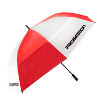 "Prosimmon Icon Windbuster 68"" Umbrella - RED/WHT"