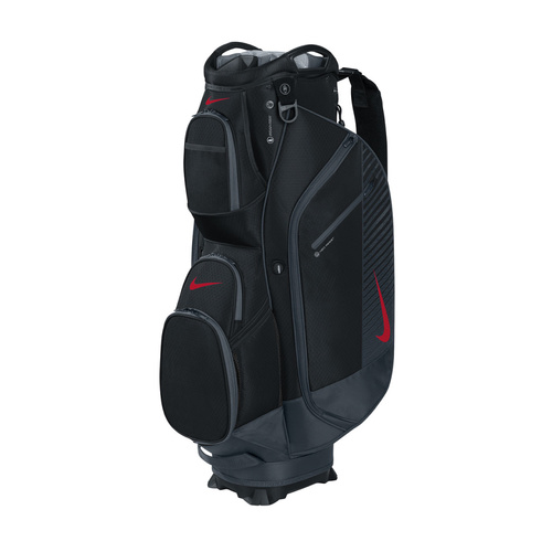 Nike M9 III Cart Bag -  Black/University Red/Dark Grey