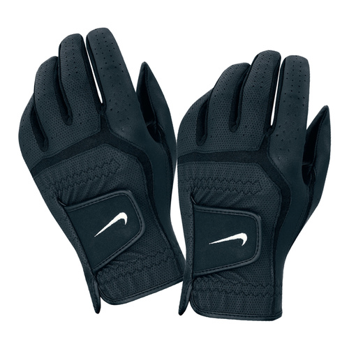 Nike Velcro Gloves: Nike Dura Feel Glove - Black/White