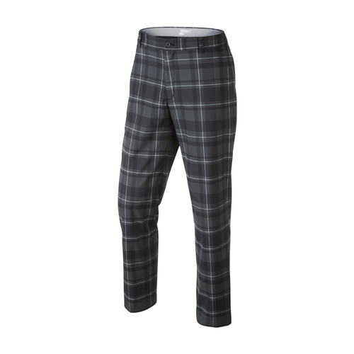 Nike Fashion Plaid Pant - BLACK [Size: 38]