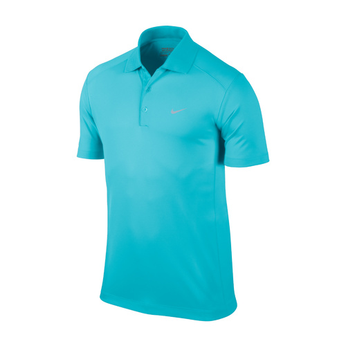 Nike Men's Dri-Fit UV Tech Polo Gamma Blue [Size: Small]