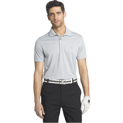 IZOD Grid Polo - High Rise [Size: X Large]