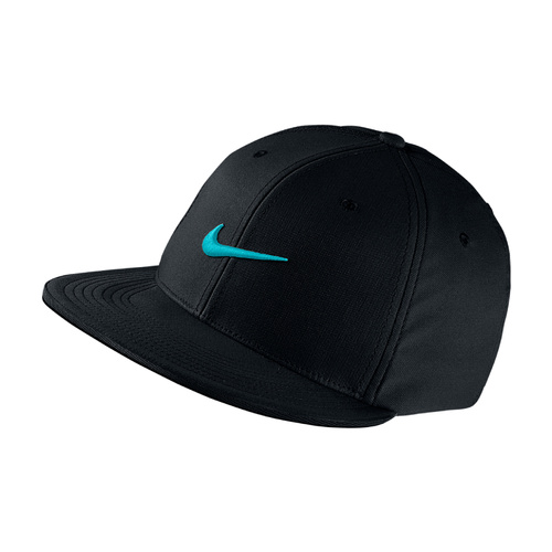 Nike Golf True Tour Cap - Black/Beta Blue [Size: M/L]