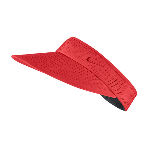 Nike Ladies Big Bill 2.0 Visor - CRIMSON