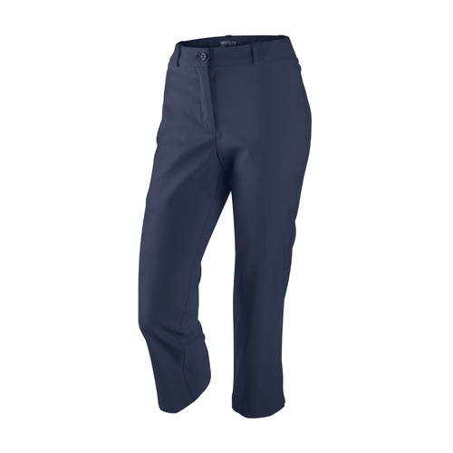 Nike Ladies Classic Rise UV Crop Ladies Pant - Midnight Navy [Size: 4]