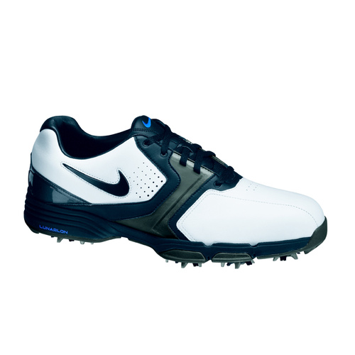Nike Lunar Saddle (Wide) - White/Black Metalic Dark Grey- Photo Blue [Size: 7.5 US]