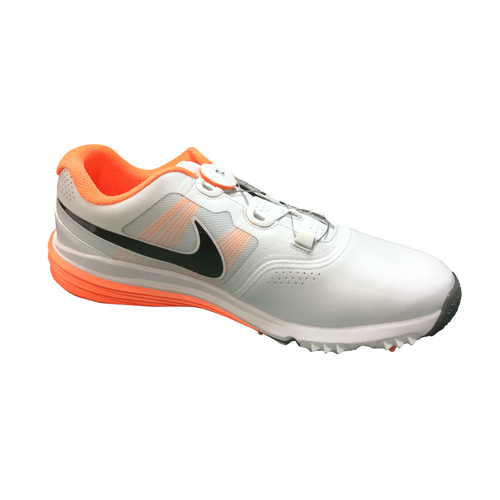 Nike Lunar Command Golf Shoes -  Boa- Platinum/Black [Size: 7.5 US]